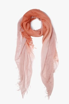 Chan Luu Dip Autumal Muted Clay Scarf