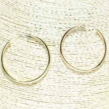 Good Feelings Gold Hoops