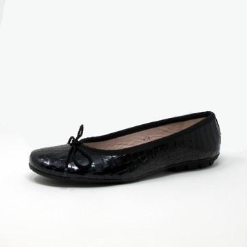 Paul Mayer Country Ballet Flat Black