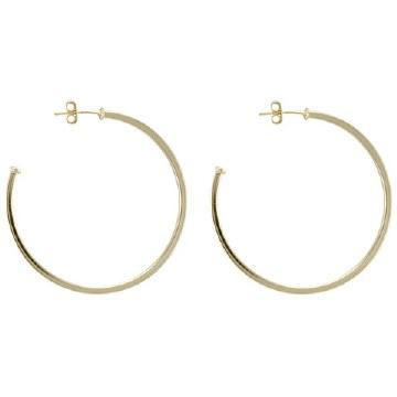 Sheila Fajil Perfect Hoop Gold Polished