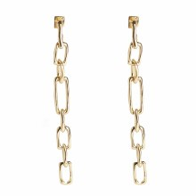 Alexis Bittar Long Chain Link Gold