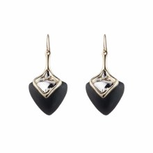 Alexis Bittar Two Tone Sculptural Drop Earring