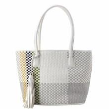 ACE White Geometric Bag