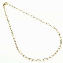 By Johanne 45cm Gold Plated Necklace