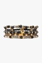 Chan Luu Onyx Mix Bracelet Set