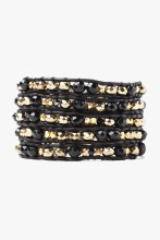 Chan Luu Onyx Mix Wrap Bracele