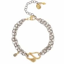 Chan Luu Silver Mix Bracelet