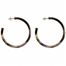 Sheila Fajl Small Everybody's Favorite Hoops Burnished