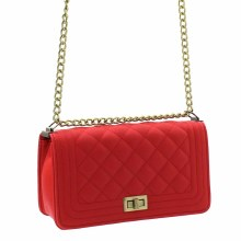 ACE Red Quilted Messenger
