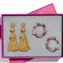BaubleBar Glamour Girl Earring Set