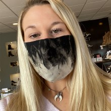 Accessories Now Black Grey Smoke Mask