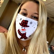 Accessories Now Snowman Mask
