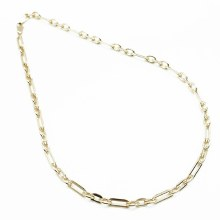 By Johanne Grand Granny 45cm Gold Plated 150 POFP Chain Necklace
