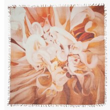 Chan Luu Calla Lilies Cashmere And Silk Scarf