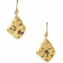Chan Luu Gold Abstract Drop Petite Earrings