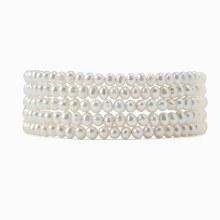 Chan Luu White Pearl Naked Wrap Bracelet