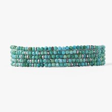 Chan Luu Turq Mix Bracelet