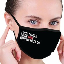 House of Tens Drink Wine Mask