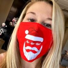 Accessories Now Santa Ho Ho Ho Mask