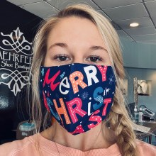 Accessories Now Merry Christmas Mask