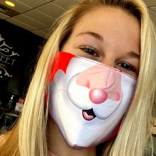 Accessories Now Santa Face Mask