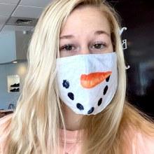 Accessories Now Snowman Face Mask