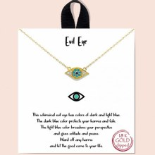 Good Feelings Evil Eye Necklace