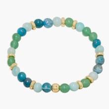 Gorjana Power Gemstone Mantra Bracelet- Passion