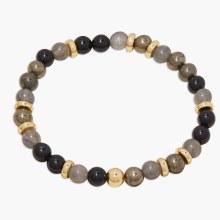 Gorjana Power Gemstone Mantra Bracelet- Virtue