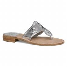 Jack Rogers Hamptons Sandal Silver