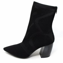 Jeffrey Campbell Final Black Woven