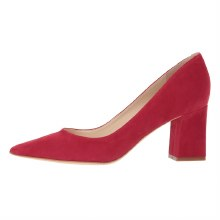 Marc Fisher Zala Red Suede