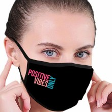 House of Tens Positive Vibes Only Mask