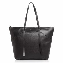 Rebecca Minkoff Signature Top Zip Tote Black