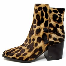 Sam Edelman Cari Leopard Ankle Boots