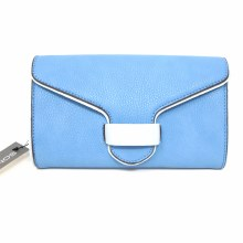 Sondra Roberts Light Blue Convertible Wristlet