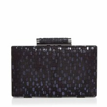 Sondra Roberts Patterned Box Clutch