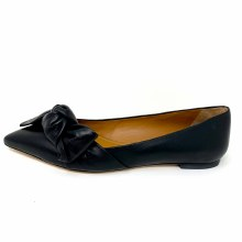 Tory Burch 5mm Bow Flat Black