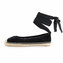 Tory Burch Minnie Ballet Espadrille Perfect Black