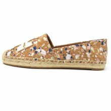 Tory Burch Ines Espadrille New Ivory Confetti