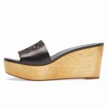 Tory Burch Ines Wedge Black
