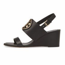 Tory Burch Metal Miller Wedge