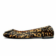 Tory Burch Minnie Ballet Flat Barbados Leopard