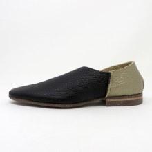 U-Dot Assymetrical Loafer