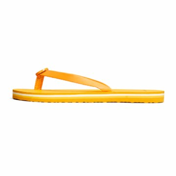 Tory Burch Mini Minnie Flip Flop Yams/ Golden Citrus