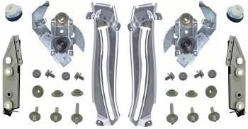 67 68 69  Camaro & Firebird Quarter Window Regulator Track Kit OE Quality!
