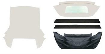 Convertible Top Kit w/zipper
