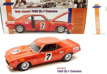 1969 Camaro 1969 ZL-1 Camaro Bob Jane Race