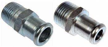 69 70 71 72 Camaro Water Pump Heater Hose Fittings  All SB & BB