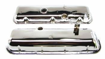 1968 Camaro Chevelle Nova BB Chrome Valve Covers 396 427 Correct OE Quality USA!